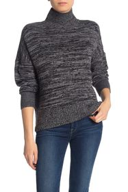 French Connection Baby Soft Space Dye Mock Neck Sw