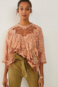 Anthropologie Marcie Lace Blouse