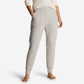 Women's Snow Lodge Sherpa-Lined Jogger Pants
