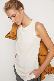 Anthropologie Lindy Waffle Tunic Top