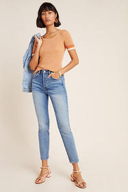 Anthropologie CQY Icon Ultra High-Rise Slim Jeans