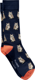 Jos Bank Jos. A. Bank Owl Socks, One-Pair - King S
