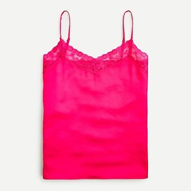 J. Crew Camisole with lace trim