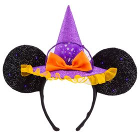 Disney Minnie Mouse Witch Ear Headband for Adults