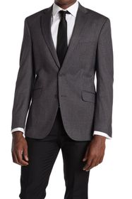 KENNETH COLE Technicole Slim Fit Sports Coat