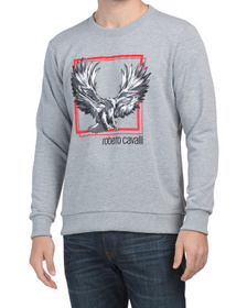 ROBERTO CAVALLI Made In Italy Mel Crew Neck Eagle