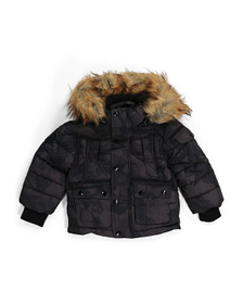 DIESEL Toddler Boy Parka Jacket