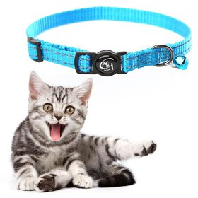 Reflective Cat Collar with Bell Nylon Pet Neck Bel on sale at Walmart