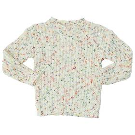 Girls (7-16) Laura Ashley Pop Sweater with Multi S