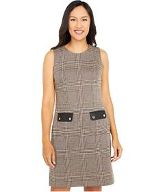 Tommy Hilfiger Pembroke Houndstooth Knit Dress