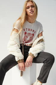 Anthropologie Strong Female Graphic Tee
