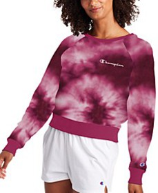 Campus Tie-Dyed French Terry Sweatshirt