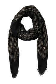 GUCCI Dotted Woven Oblong Scarf