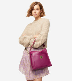 Cole Haan Small Turnlock Shoulder Bag