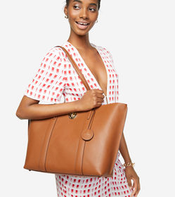 Cole Haan Large Turnlock Tote