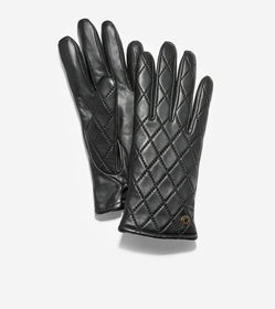 Cole Haan GRANDSERIES Quilted Leather Glove