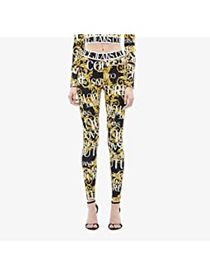 Versace Jeans Couture Logo Print Leggings with Tap