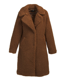LUCKY BRAND Women's Cozy Teddy Coat