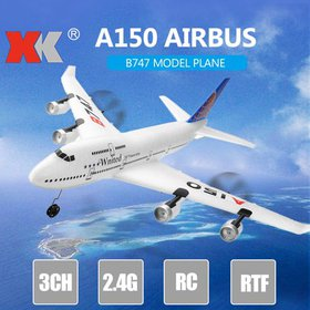 wltoys XK A150 Airbus B747 Model Plane RC Fixed-wi