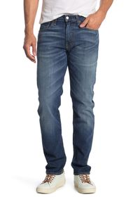 "Lucky Brand 121 Slim Straight Cut Jeans - 30-34"" I"