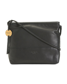 MARGOT Top Stitch Leather Crossbody