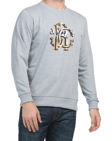 ROBERTO CAVALLI Made In Italy Mel Crew Neck Logo S