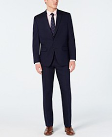 Men's Classic-Fit Stretch Suits, Created for Macy'