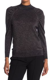 Joie Artima Ruched Sleeve Wool Blend Sweater
