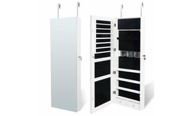 Jewelry Cabinet Jewelry Armoire Wall Door Mounted