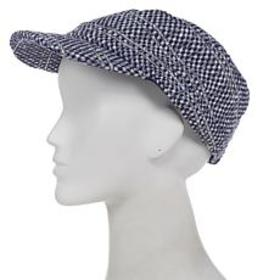 """""""As Is"""" Collection 18 Tweed Sparkle Military Hat"""