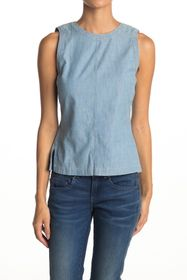 G-STAR RAW Deline Denim Sleeveless Top