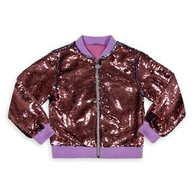 Disney Ariel Reversible Sequin Jacket for Girls –