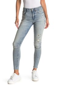 G-STAR RAW Biwes High Rise Distressed Skinny Jeans