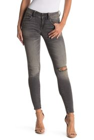 G-STAR RAW Lynn Mid Distressed Skinny Jeans