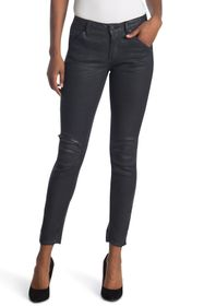 G-STAR RAW 5622 Coated Mid Skinny Jeans