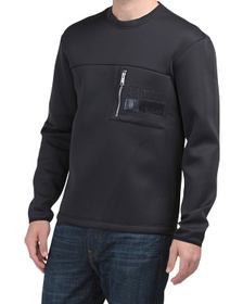 ARMANI EXCHANGE Made In Portugal Crew Neck Sweatsh