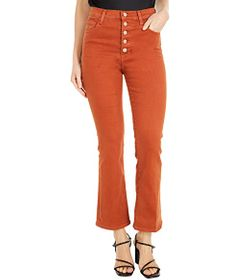 J Brand Lillie High-Rise Flare in Lazlo