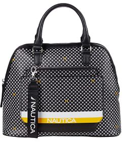 Nautica Cast Your Nets Dome Satchel