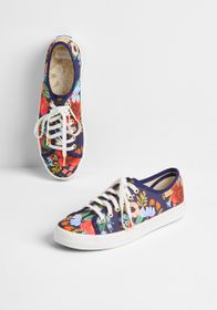 Keds Keds Right on the Rose Canvas Sneaker Navy/Mu
