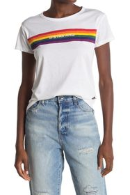 G-STAR RAW Rainbow Stripe Tee