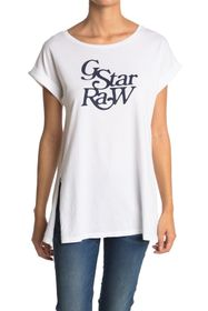 G-STAR RAW Graphic 67 Luge Knotted Tee