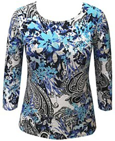 Floral Paisley Top, Created for Macy's