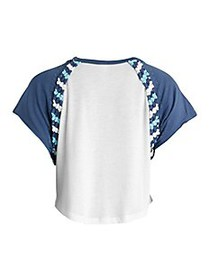 Free People Movement Change It Up Braided-Trim T-S