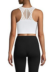 ELECTRIC YOGA Ribbed Cropped Top