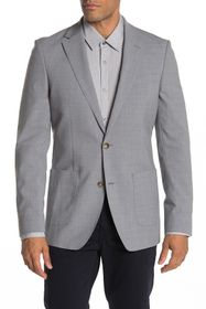 Tommy Hilfiger Serona Grey Sharkskin Two Button No
