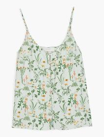 Lucky Brand Button Front Cami