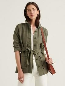 Lucky Brand Belted Workwear Utility Jacket