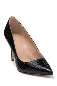 BCBG Middea Croc Embossed Pointed Toe Pump