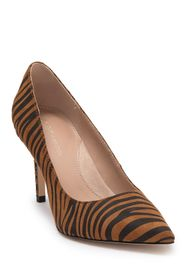 BCBG Middea Zebra Stripe Pointed Toe Pump