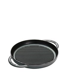 "Staub - 10"" Round Double Handle Pure Grill"